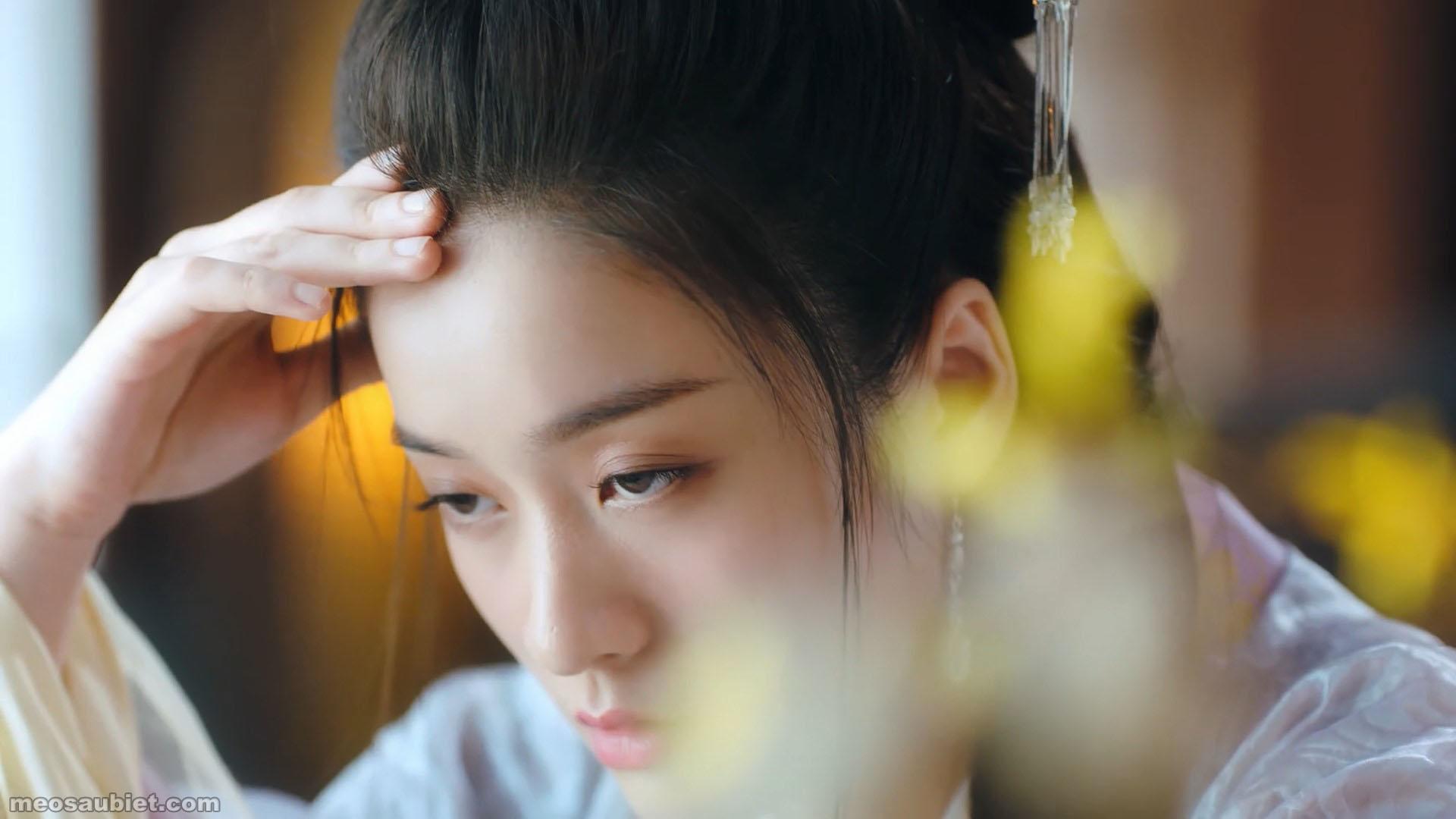Bạch phát vương phi 2019 Trương Tuyết Nghênh trong vai Dung Nhạc