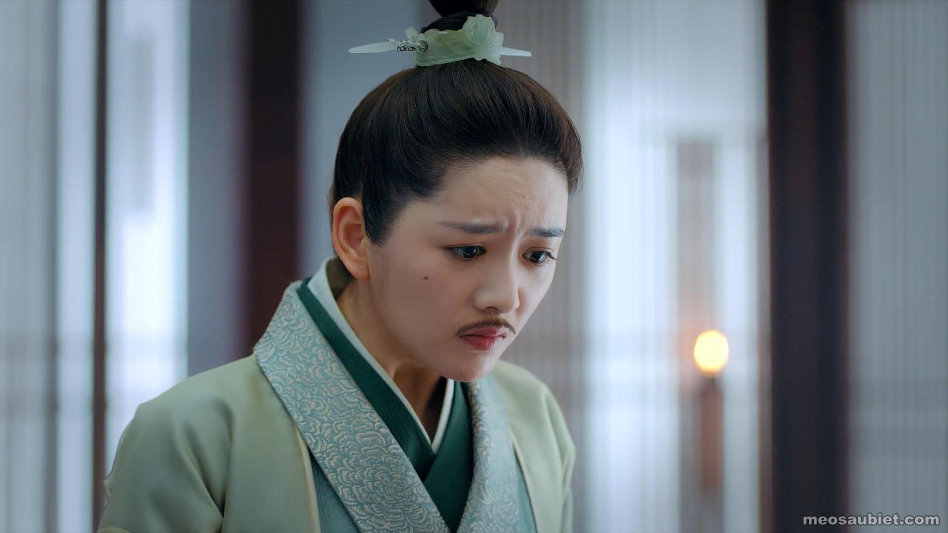 Bạch phát vương phi 2019 Văn Trúc trong vai Chiêu Vân , quận chúa Bắc Lâm