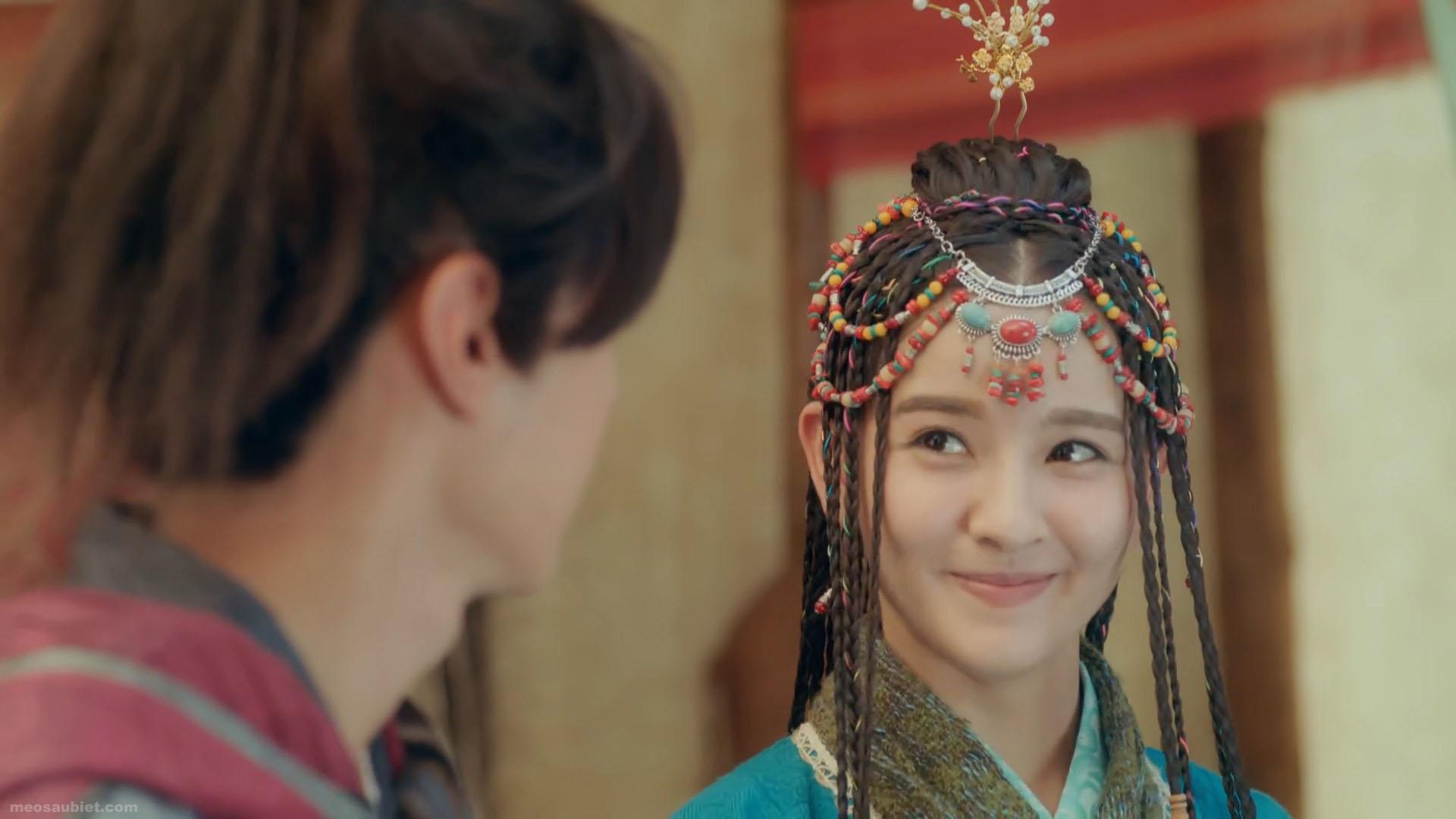 Tân tuyệt đại song kiêu 2020 Trương Tuyết Hàm trong vai Đào Hoa