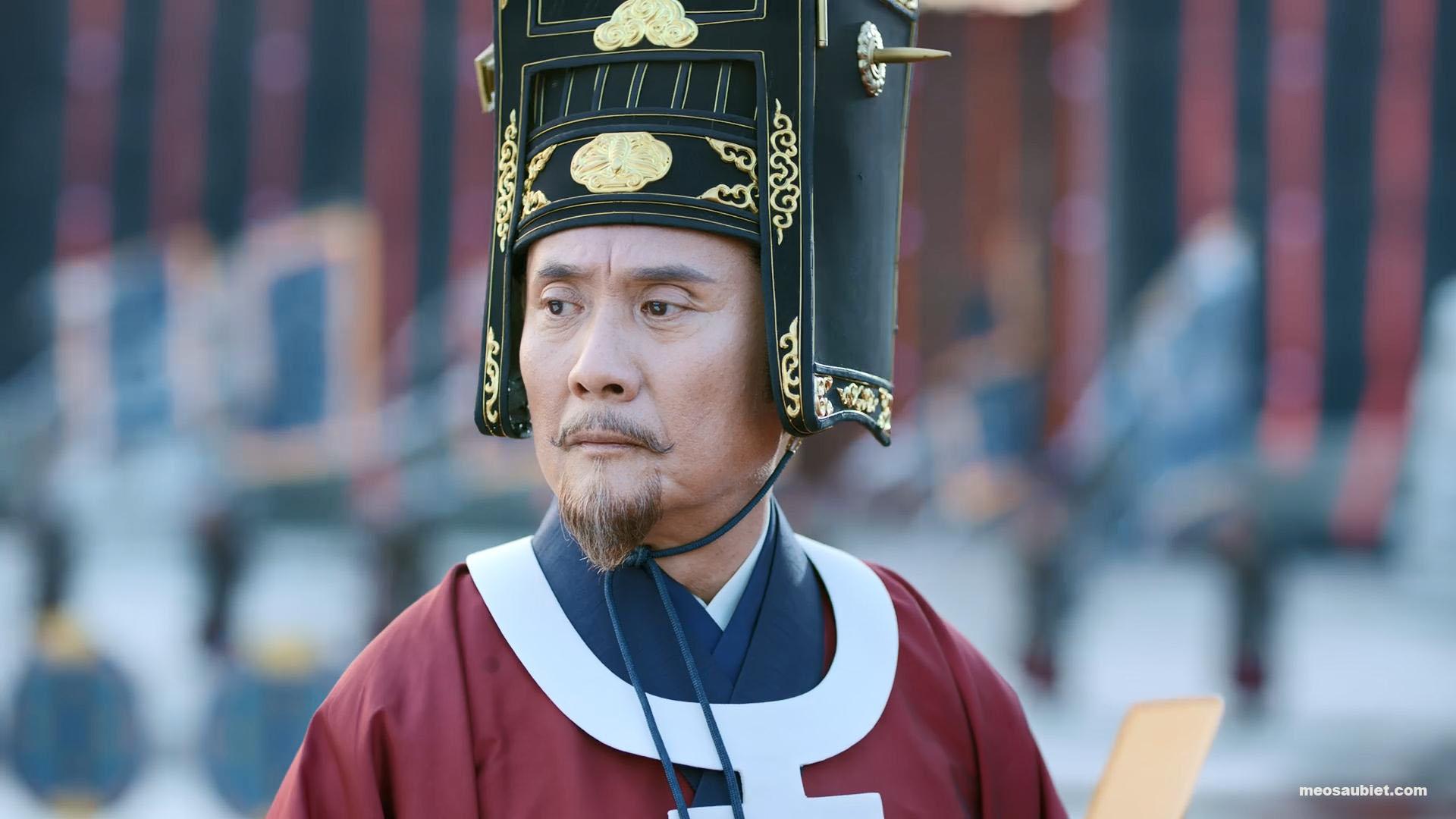 Hạc Lệ Hoa Đình 2019 Trương Chí Kiên trong vai Trung thư lệnh Lý Bách Châu