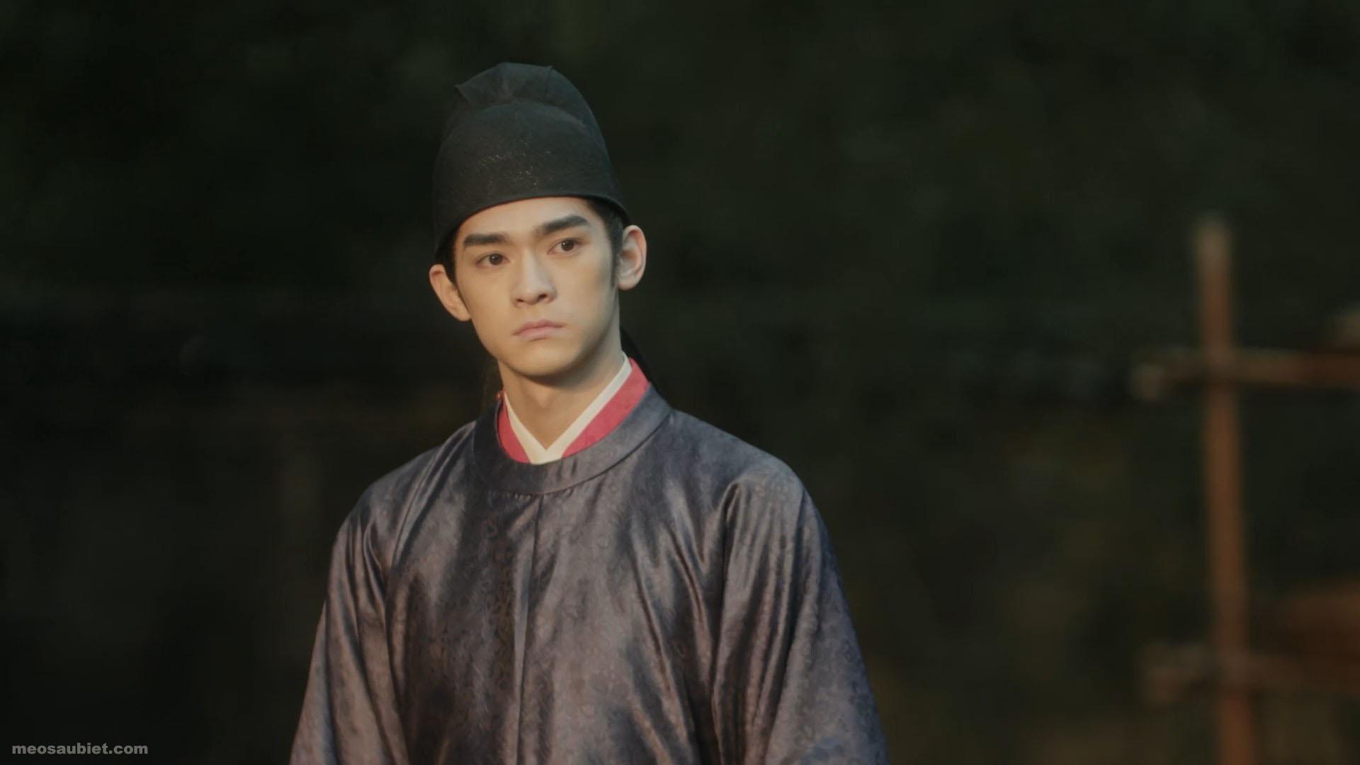 Thanh Bình Nhạc 2020 Trương Gia Thạc trong vai Triệu Trinh , Tống Nhân Tông ( thiếu niên )