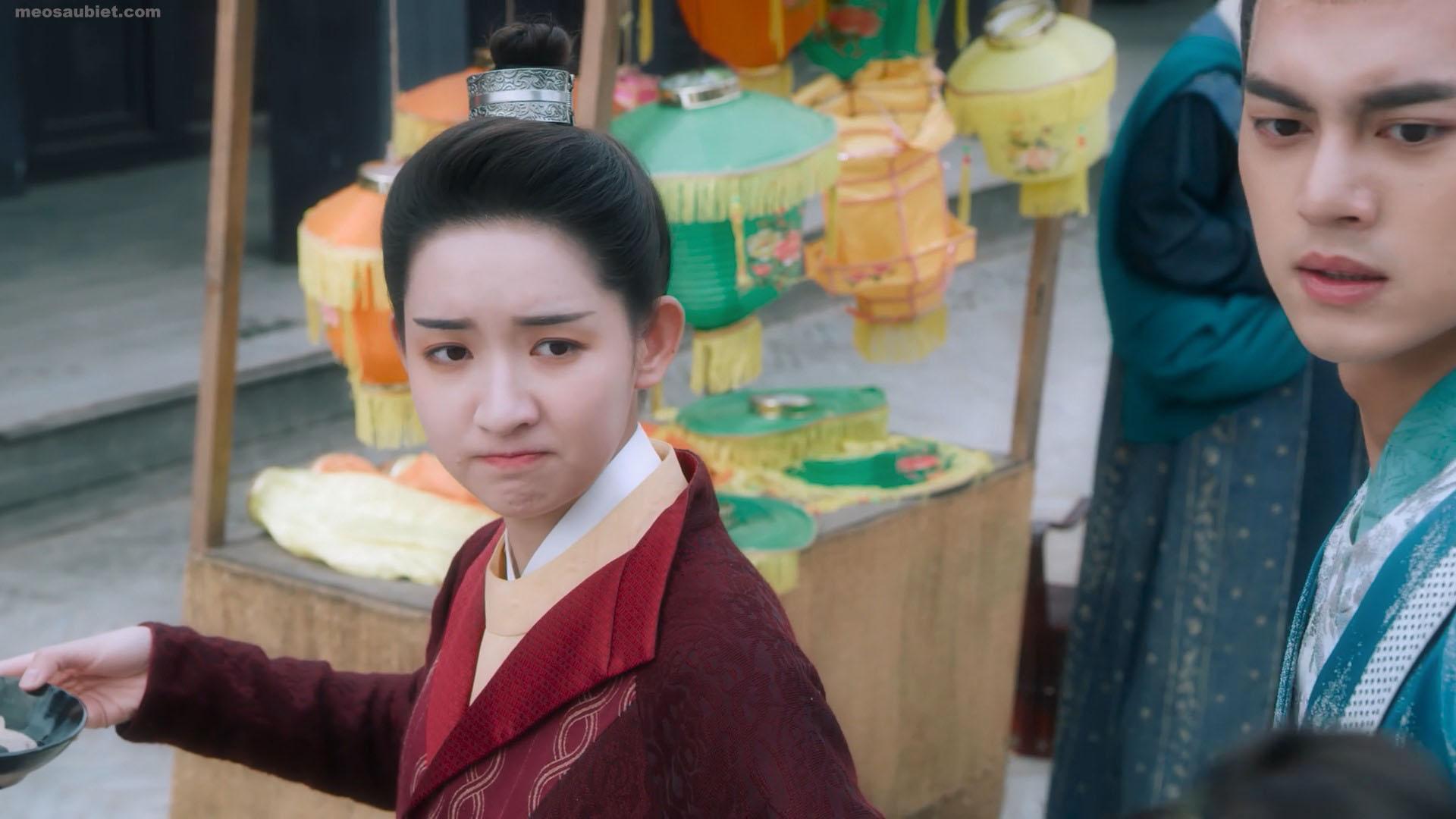 Trường An thiếu niên hành 2020 Vương Ngọc Văn trong vai Thẩm Y Y